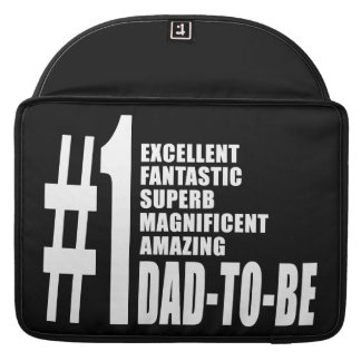 Cool Gifts for Future Dads Number One Dad to Be Sleeves For MacBook Pro