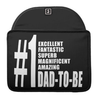 Cool Gifts for Future Dads Number One Dad to Be MacBook Pro Sleeves