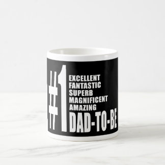 Cool Gifts for Future Dads : Number One Dad to Be Classic White Coffee Mug