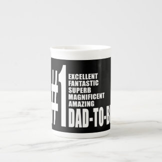Cool Gifts for Future Dads : Number One Dad to Be Tea Cup