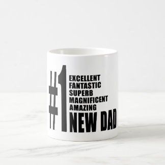 Cool Gifts for New Dads Number One New Dad Mug