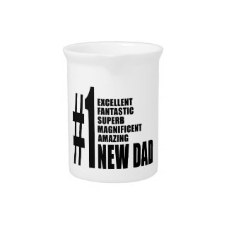 Cool Gifts for New Dads : Number One New Dad Pitcher