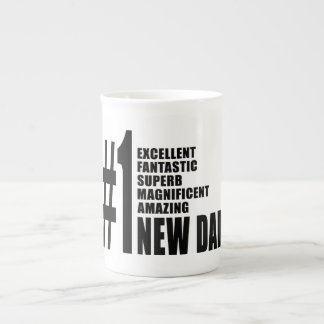 Cool Gifts for New Dads Number One New Dad Bone China Mug
