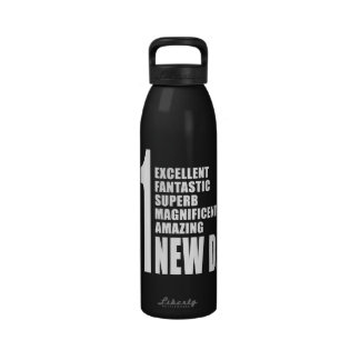 Cool Gifts for New Dads Number One New Dad Drinking Bottles