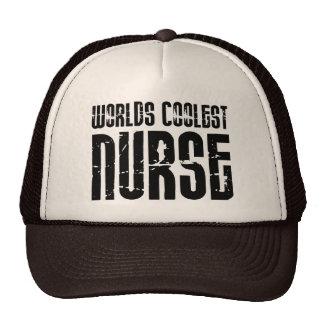Cool Gifts for Nurses : Worlds Coolest Nurse Trucker Hat
