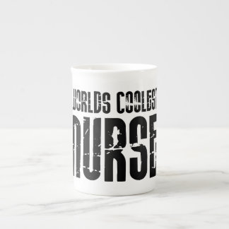 Cool Gifts for Nurses : Worlds Coolest Nurse Tea Cup