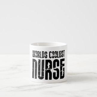 Cool Gifts for Nurses : Worlds Coolest Nurse 6 Oz Ceramic Espresso Cup