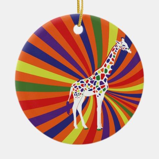 Cool Giraffe Ornaments