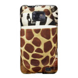 Cool Giraffe Pattern and Zebra Stripes Coffee Mugs Samsung Galaxy S2 Case