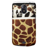 Cool Giraffe Pattern and Zebra Stripes Coffee Mugs Samsung Galaxy Nexus Cases