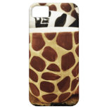 Cool Giraffe Pattern and Zebra Stripes Coffee Mugs iPhone 5 Case