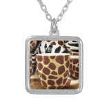 Cool Giraffe Pattern and Zebra Stripes Coffee Mugs Pendants