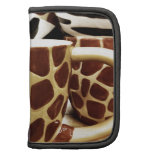 Cool Giraffe Pattern and Zebra Stripes Coffee Mugs Folio Planner