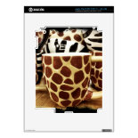 Cool Giraffe Pattern and Zebra Stripes Coffee Mugs Skins For iPad 3