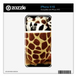 Cool Giraffe Pattern and Zebra Stripes Coffee Mugs Decals For The iPhone 4
