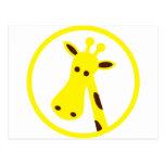 Cool Giraffe Post Cards