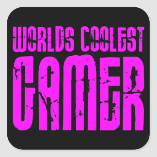 Cool Girl Gamers  Worlds Coolest Gamer Stickers