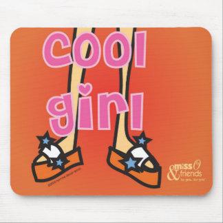 cool girl mousepad