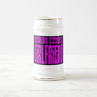 Cool Girlfriends : Pink Worlds Coolest Girlfriend Coffee Mug