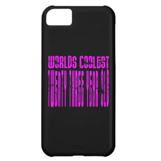 Cool Girls 23rd : Pink Worlds Coolest Twenty Three Case For iPhone 5C
