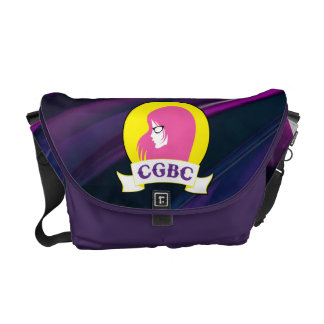 Cool Girls Book Club Messenger Bag