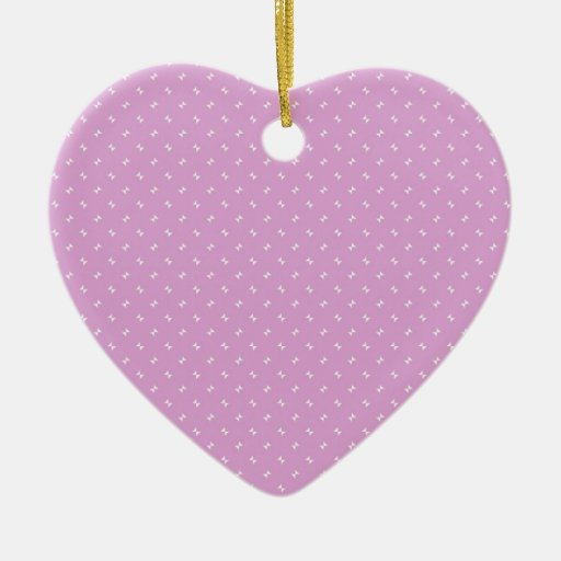 Cool girly pink plug pattern gifts christmas ornaments for Cool girly stuff
