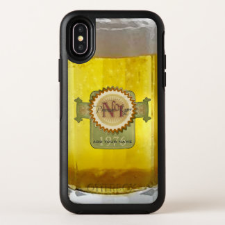 Cool Glass Of Lager OtterBox Symmetry iPhone X Case