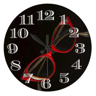 Cool Glasses Frames Clock
