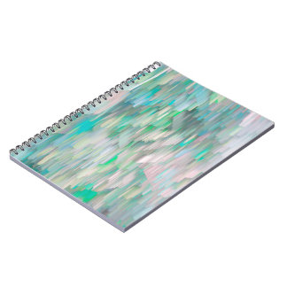 Cool Glitch Abstract Notebook! Notebook