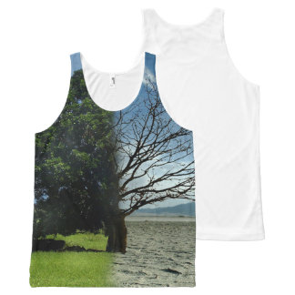 cool GLOBAL WARMING designs All-Over Print Tank Top