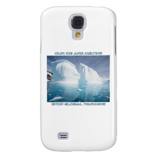 cool GLOBAL WARMING designs Galaxy S4 Case
