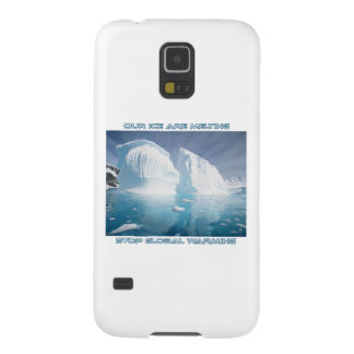 cool GLOBAL WARMING designs Galaxy S5 Case