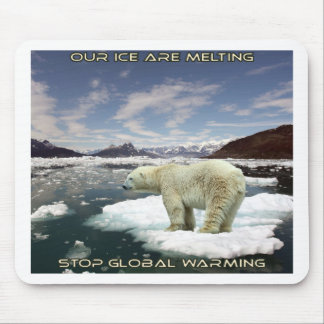 cool GLOBAL WARMING designs Mouse Pad