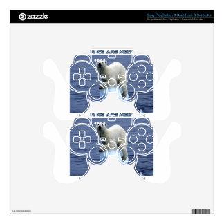 cool GLOBAL WARMING designs PS3 Controller Skin