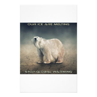cool GLOBAL WARMING designs Stationery