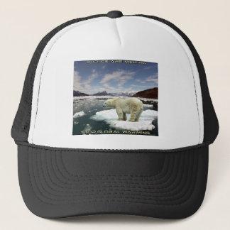 cool GLOBAL WARMING designs Trucker Hat