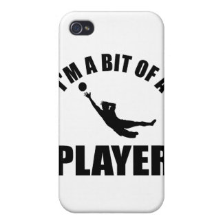 Cool Goalkeeper design Covers For iPhone 4