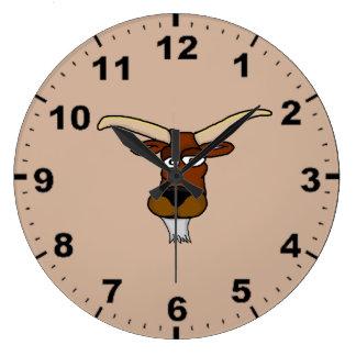 Cool goat design wall clocks