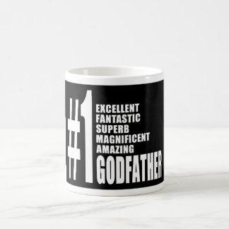 Cool Godfathers : Number One Godfather Classic White Coffee Mug