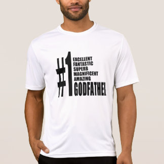 Cool Godfathers : Number One Godfather Tshirts