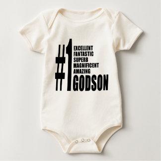 Cool Godsons : Number One Godson Baby Bodysuit
