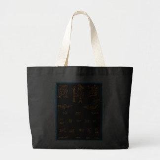 Cool Gold Mayan Design Bags