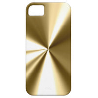 Cool Gold Metal Look iPhone 5 Case