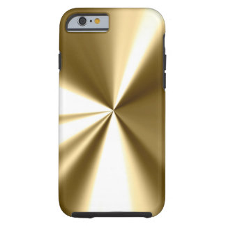 Cool Gold Metal Look iPhone 6 case
