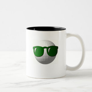 Cool Golf Ball Design Coffee Cup