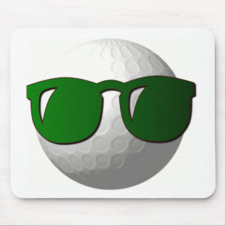Cool Golf Ball Design Mouse Pad