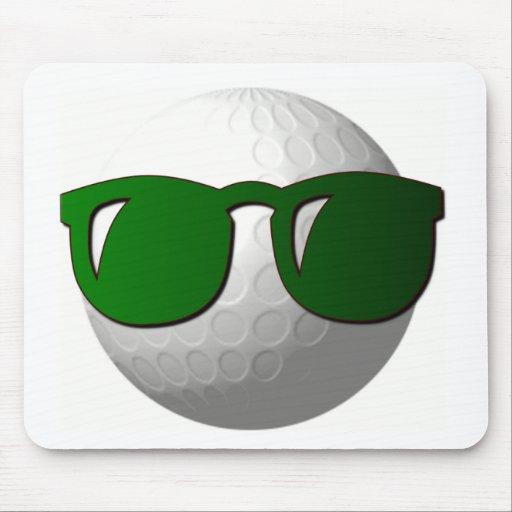 cool golf ball design mouse pad zazzle. Black Bedroom Furniture Sets. Home Design Ideas