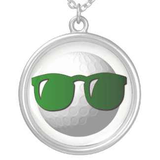 Cool Golf Ball Necklace