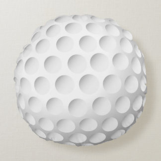 Cool Golf Ball Round Pillow