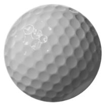 cool golf balls melamine plate